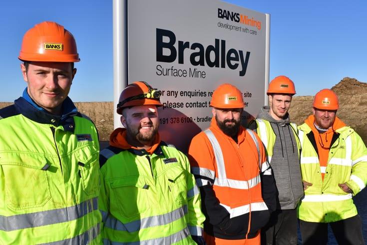 Local apprentices start work at Bradley surface mine