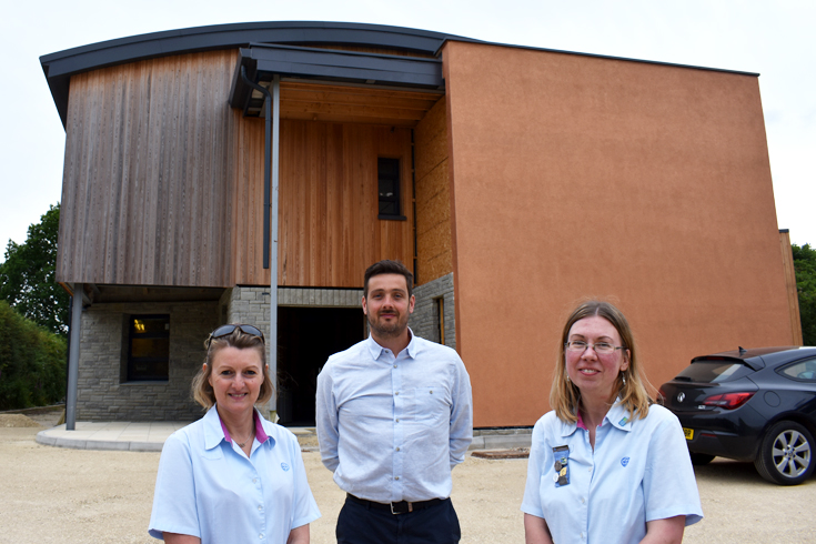 New Harrogate training centre for North Yorkshire girl guides reaches latest landmark