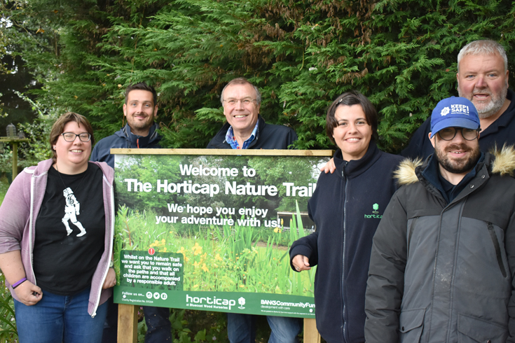 Revamped nature trail opens at Harrogate charity garden