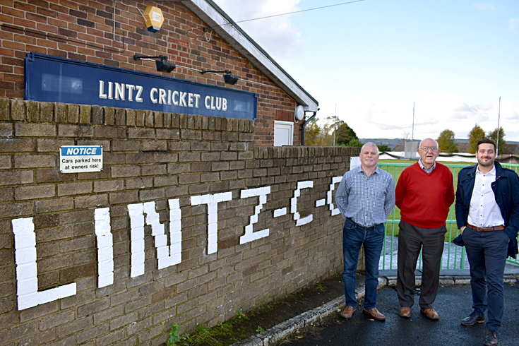 Lintz Cricket Club key officers