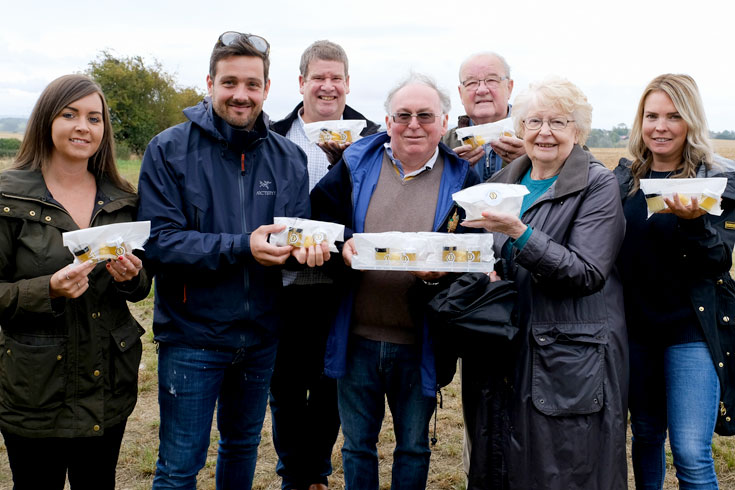 Moor House apiary opening